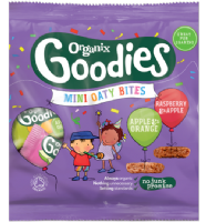 Buy Organic Mini Cereal Bar Bites Online -Organic Baby Food | Organix Shop
